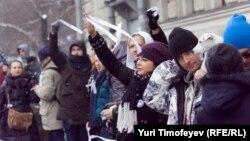 """Акция """"Белое кольцо"""" в Москве, 2012 год"""