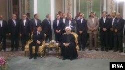 Արխիվ -- Իտալիայի վարչապետ Մատեո Ռենցիի այցը Իրան, ապրիլ, 2016թ․