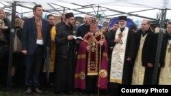 Учасники акції на підтримку України в Італії