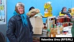 La piață la Rezina
