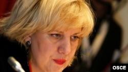 Представитель ОБСЕ по вопросам прессы Дуня Миятович