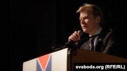 Выступае Віталь Рымашэўскі.