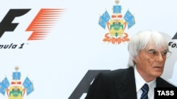 Kreu Ekzekutiv Komercial i Formula 1, Bernie Ecclestone