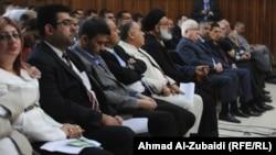 عراقيون من طوائف وأديان وأعراق متنوعة في تجمع ببغداد