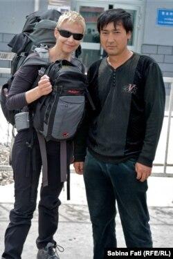 În gară în orașul Hami în China