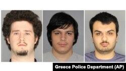 برایان کولانری، اندور کرایسل و وینسنت وترومایل به اتهام داشتن اسلحه و توطئه دستگیر شدهاند.