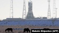 Космічний корабель «Союз-МС-07» готується до старту на «Байконурі», 15 грудня 2017 року