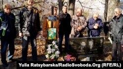 Члени обласного товариства політв'язнів і репресованих, громадські активісти, дослідники зібрались на Клочківському цвинтарі, на могилі Василя Макуха