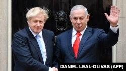 Нетанјаху ја даде изјавата по средбата со британскиот премиер Борис Џонсон