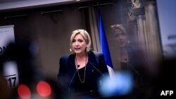 Liderja e Frontit Kombëtar francez, Marine Le Pen