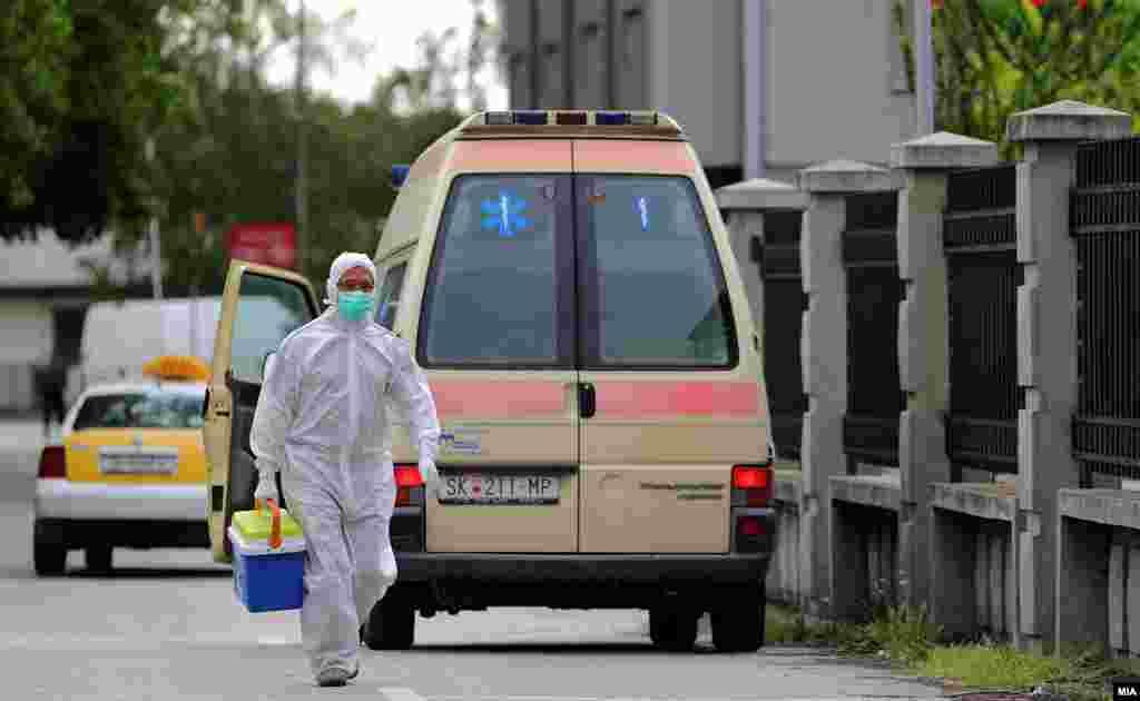 МАКЕДОНИЈА - Министерството за здравство информира дека во последните 24 часа се направени 1768 тестирања, а регистрирани се 127 нови случаи на ковид-19, петмина починати и 60 оздравени пациенти.
