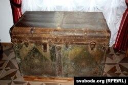 Куфар, які, верагодна, кранаў сваімі рукамі Напалеон Орда