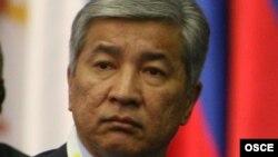 Астана қаласының әкімі Иманғали Тасмағамбетов. 1 желтоқсан 2010 жыл.
