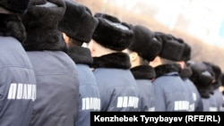 Kazakh police who are incarcerated are protected from potential reprisal attacks.