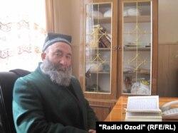 Хоҷамир Хоҷамиров, муовини раҳбари Шӯрои уламо дар вилояти Суғд.