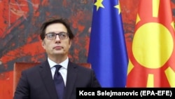 Претседателот на Република Северна Македонија Стево Пендаровски