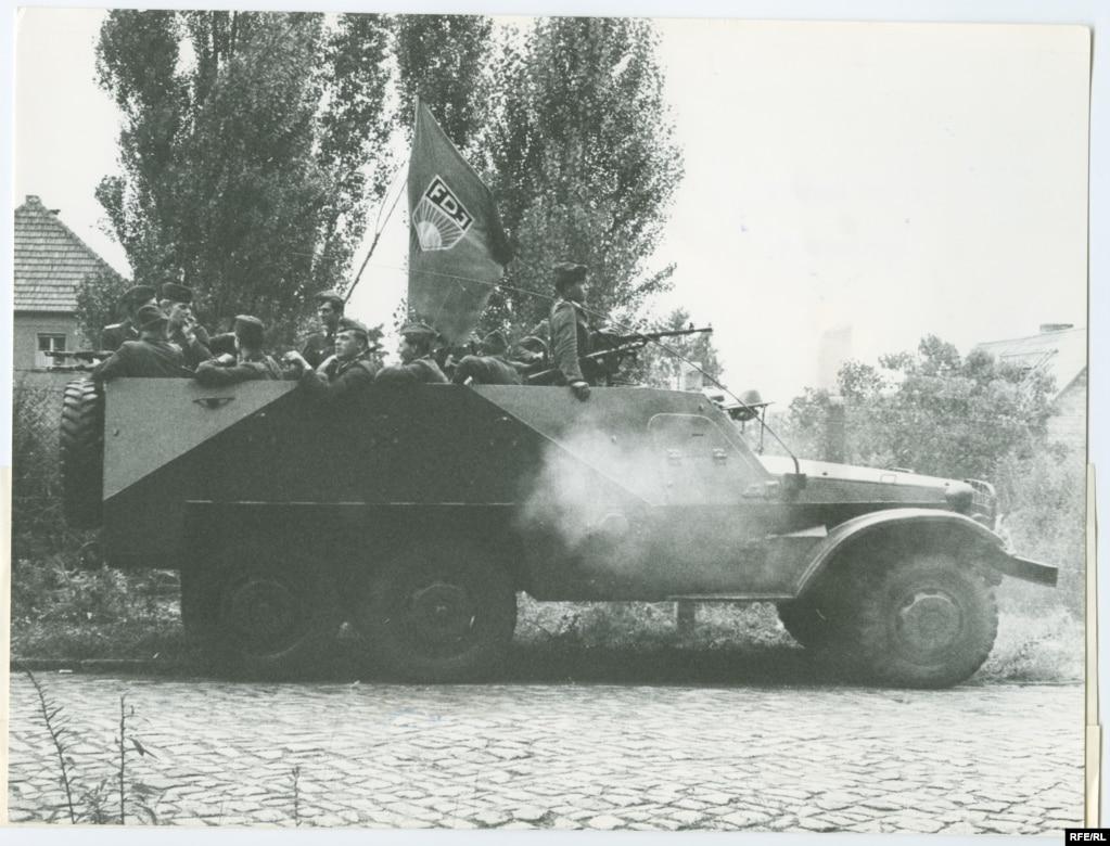 Розміщення військ НДР після поділу Східного та Західного Берліна. 13 серпня 1961 року