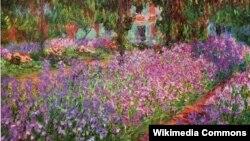 Клёд Манэ, «Сад мастака ў Жывэрні» (1900)