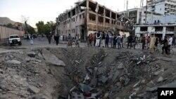 По нападот со камион бомба во Кабул, 31.05.2017.