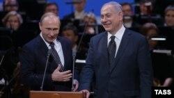 Ռուսաստանի նախագահ Վլադիմիր Պուտինն ու Իսրայելի վարչապետ Բենյամին Նաթանյահուն, արխիվ