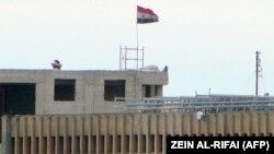 نمای بیرونی زندان مرکزی حلب