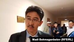 Максат Нурыпбаев, руководитель объединения «Алаш жолы», регистрация которого была отозвана по решению суда.