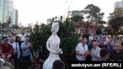 Уругвай - Открытие площади «Республика Армения» в городе Пунта Дель Эсте, 7 января 2018 г․