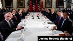 Американо-китайские переговоры о торговле.
