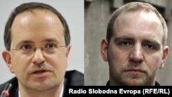 Bodo Weber (L) i Florian Bieber