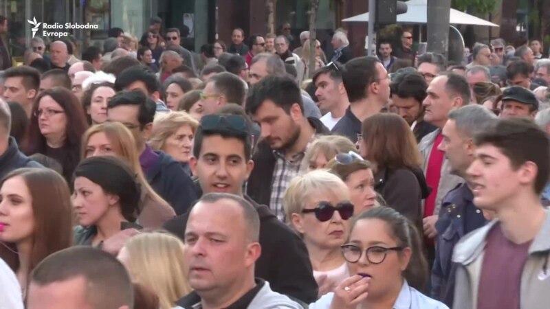 Protest u Beogradu: Predstavljen stručni tim za dijalog s vlastima