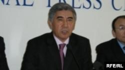 Жармахан Туякбай, председатель оппозиционной партии ОСДПК.