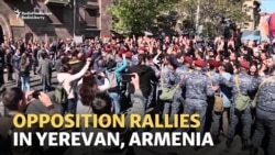 Armenians Protest Against Ex-President's Bid To Be Prime Minister
