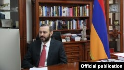 Секретарь Совета безопасности Армении Армен Григорян, 17 ноября 2020 г.