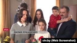 Lukaşenkanın oğlu Viktarın yoldaşı Liliya Lukaşenkaya da sanksiyalar qoyulub