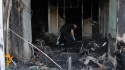 Two Banks Destroyed In Odesa, Ukraine