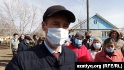 Аким Покатиловского сельского округа Абзал Хами.