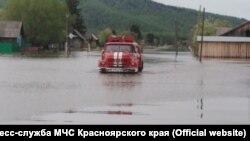 Наводнение в Красноярском крае
