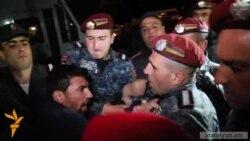 Բերման ենթարկված ակտիվիստ․ «Ոստիկանության քայլերը ուղղված էին նաև Հայոց բանակի դեմ»