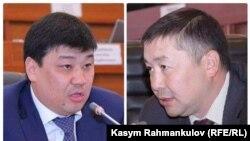 """Спикерликке """"Кыргызстан"""" фракциясынын лидери Канат Исаев жана """"Өнүгүү-Прогресс"""" фракциясынын лидери Бакыт Төрөбаевдин талапкерлиги сунушталган."""