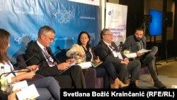 Pirs Kazale, zamjenik portparola NATO-a na Bezbednosnom forumu u Beogradu, 19. okobar 2018.