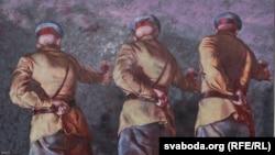 Карціна Андрэя Дубініна «Клюб Дзяржынскага, або Ноч паэтаў», 2017