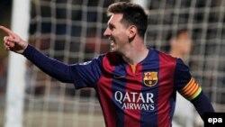 Фудбалерот на Барселона Лионел Меси.