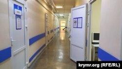 Отремонтированное отделение в хирургическом комплексе первой горбольницы