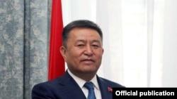 Жогорку Кеңештин төрагасы Чыныбай Турсунбеков.