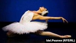 """Мария Яковлева в балете """"Лебединое озеро"""". Фото из личного архива"""
