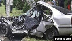 Последствия аварии в Бишкеке. 9 сентября 2019 года.