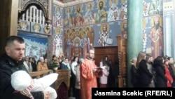 Božićna liturgija u hramu Sv. Dimitrija, 7. januar 2016.