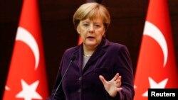 Канцлер Германии Ангела Меркель.