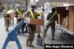 აშშ-ის ჯარისკაცები ნიუ-იორკში