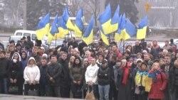 У Запоріжжі вшанували героїв Революції Гідності (відео)